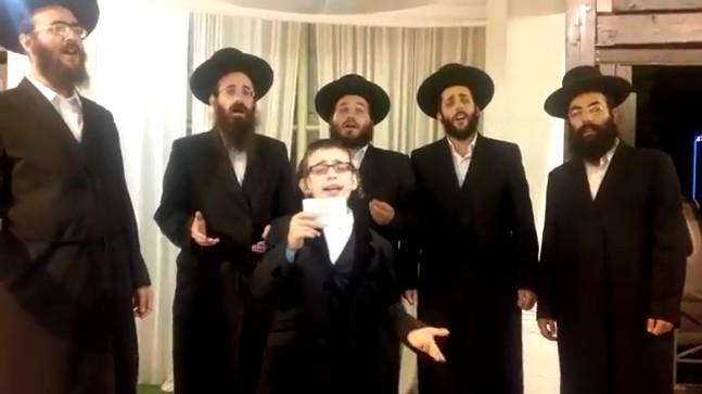 ילד הפלא ארי רייך ומקהלת